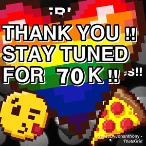 Other - THANK Y'ALL 4 CELEBRATING W/ ME!🎉SEE YA @ 70K!🎉